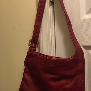 Red Ralph Lauren handbag